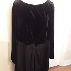 Michael Kors black dress, sz. 3X